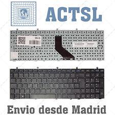 Teclado Español para Clevo w350et Black