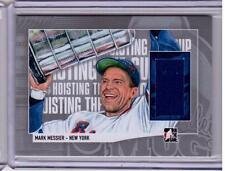 MARK MESSIER 13/14 ITG Lord Stanley's Mug Hoisting the Cup Jersey #HTC-14 SP