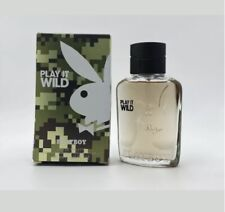 Playboy Play It Wild by Coty, 2.0 oz EDT Spray for Men New In Box