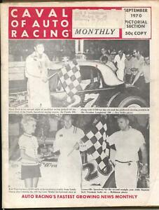 Cavalcade of Auto Racing 9/1970-pictorial section-Langhorne-Golden Gate-VG