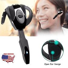Bluetooth Headphone Open Ear Earphone Ear Hook with Microphone for Phones Laptop