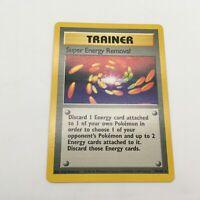 Pokemon Base Set Super Energy Removal Non-Holo Rare Trainer 79/102 Near Mint
