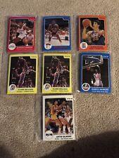 1984-85 Star Basketball Team Sets 7 Opened Team Sets+5 Singles. Good Starter Set