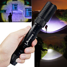 Tactical Police 12000LM CREE XM-L T6 LED 5 Modes 18650 Flashlight Aluminum Torch