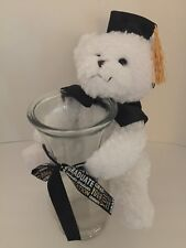 Graduation Bear Stuffed Plush Animal Memories With Flower Vase, Party Gift