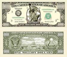 Wholesale Lot of 100 - Traditional Million Dollar Bill