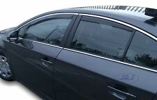 DTO29609 Wind deflectors fits TOYOTA AVENSIS Saloon  2009-2015 4pc TINTED HEKO