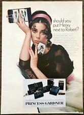 1968 Princess Garner Wallets Purses Cases Print Ad Woman w Mens Photos