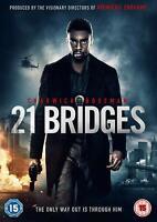 21 BRIDGES (STX) - Chadwick Boseman [DVD] Sent Sameday*