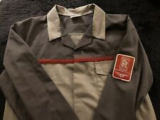 Rolls-Royce Bentley Vintage 1985-95 Crewe Factory Bench Work Coat New Men's L