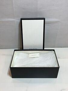 "Gucci Empty Gift Box 14.5"" x 8.25"" x 5.25"" with Gucci Card"