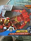 Marvel Avengers Assemble IRON MAN FLYING RC EXTREME HERO Remote Control - NEW