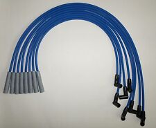 Big Block CHEVY 396-427-454-502 HEI BLUE 8mm SPARK PLUG WIRES-Straight Boot USA