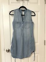 Velvet Hearts Denim Dress - XS