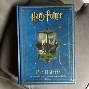 Harry Potter Page To Screen The Complete Filmmaking Journey hardback McCabe 2011