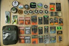 Carp Tackle mixed bundle, Assorted end tackle and Thinking Anglers pouch
