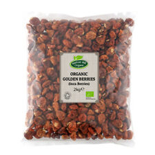 Organic Golden Berries (Inca Berries) 2kg - Certified Organic