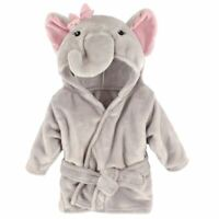 Hudson Baby Bathrobe, Pretty Elephant