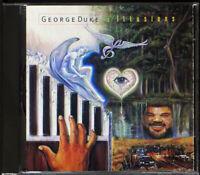 George Duke - Illusions - CD [14] (EX/EX)