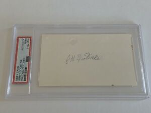 JH Jimmy Doolittle WWII General Signed Autograph Cut PSA DNA j2f1c