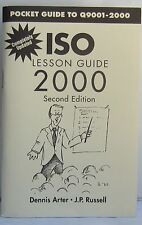 ISO Lesson Guide 2000: Pocket Guide to Q9001 2000 by Dennis Arter