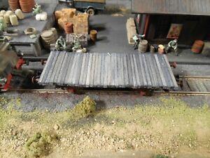 HO Roco Minitanks Freight Railway Car Custom Detailed Weathered #2871