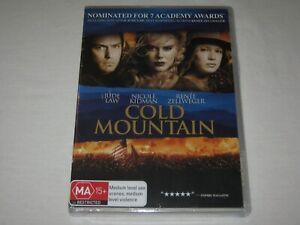 Cold Mountain - Nicole Kidman - Brand New & Sealed - Region 4 - DVD
