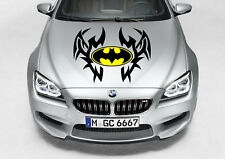 TRIBAL BATMAN DESIGN DECAL VINYL GRAPHIC HOOD CAR TRUCK
