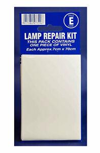 Castle Promotions Car Lamp Repair Kit CLEAR Vinyl Sticker Head Lights V410