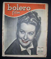 BOLERO FILM 129/1949 RHONDA FLEMING HOLLYWOOD GARDNER TAYLOR HOLDEN FOTOROMANZI