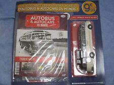 AB416 HACHETTE IXO 1/43 AUTOBUS ET AUTOCARS DU MONDE ISOBLOC 648 DP 1955