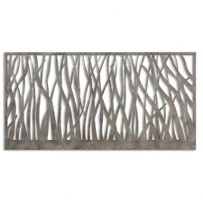 Uttermost 13931 Amadahy - 60 inch Metal Wall Art  Rust-Olive/Aged Gray Finish