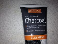 BEAUTY FORMULAS  - ACTIVATED CHARCOAL CLAY MASK DRAWS OUT DEEP-ROOTED DIRT 100ML