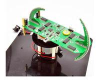 2020 DIY Biaxial Spherical Rotating LED Kit Creative POV Soldering Training