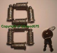 ONE-KEY 8 LOCK CORE SET - fits Thule Karrite Halfords (Equivalent to 588 Locks)