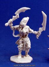 1 x MOMIE CAPITAINE - BONES REAPER figurine miniature jdr rpg mummy undead 77145