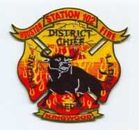 Houston Fire Department Station 102 Patch Texas TX