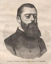 Feuerbach Lodovico, 1872 xilografia