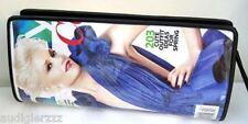 Gwen Stefani Handmade Round Magazine Rigid Clutch Bag InStyle