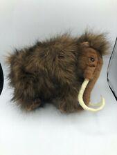 Hansa Woolly Mammoth Cub Elephant Plush Stuffed Toy Animal Realistic Posable