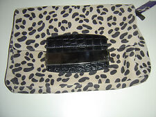 Jimmy Choo for H&M Tasche Bag Clutch Wildleder Leo Design NEU