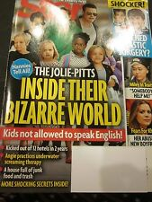 STAR MAGAZINE APRIL 21 2014 ANGELINA JOLIE BRAD PITT BRAND NEW