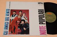 GLI AMICI DEL VENTO LP ITALY BEAT ANNI '60 AUDIOFILI TOP EX++ 1°ST ORIG LAMINATA