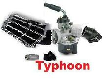 Kit Carburateur 17,5 + filtre + Pipe PIAGGIO Typhoon
