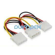 K15 Adapter Kabel IDE Stromkabel 4 pol Molex Stecker auf 2x 4 pol Molex Buchse