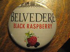Belvedere Polish Polska Black Raspberry Vodka Advertisement Lapel Button Pin