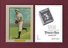 "1910 Turkey Red T3: #108 FRED MERKLE, Giants RGI REPRINT 2-1/2""x 3-1/2"" size"