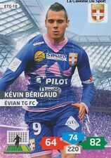 ETG-10 KEVIN BERIGAUD # EVIAN THONON CARD ADRENALYN FOOT 2014 PANINI