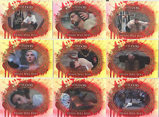 """The Tudors Series 1-3 - """"Heads Will Roll"""" Chase Card Set of 9 #HWR1-9"""