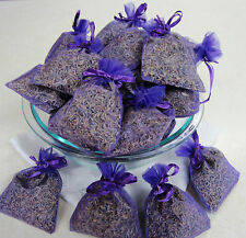 Set of 50 Lavender Sachets made with Purple Organza Bags